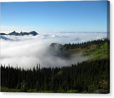 High Above The Clouds Canvas Print