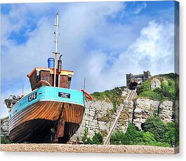 High And Dry Canvas Print by Graham Taylor