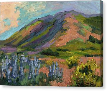 High Desert Spring Canvas Print by Diane McClary