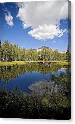 High Sierras Lake Canvas Print by Bonnie Bruno