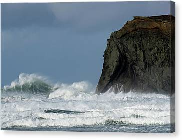 High Surf Canvas Print by Bob Christopher