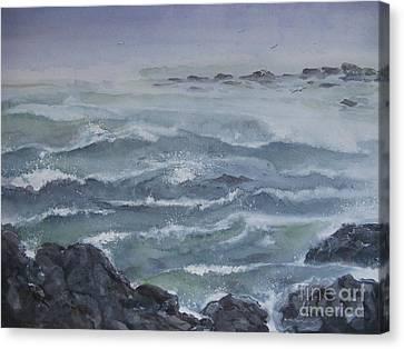 High Tide Canvas Print by Ronald Tseng