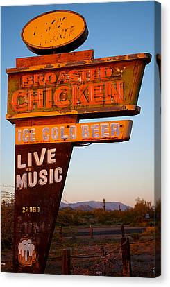 Highway Mirage Canvas Print by Jephyr Art
