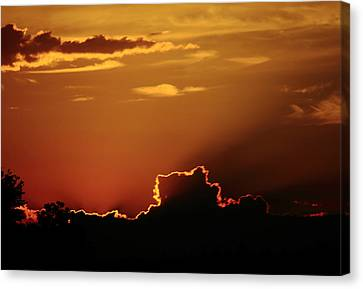 Canvas Print - Highway Sunrise by Tanya Chesnell