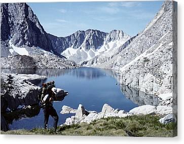 Hiking The High Sierra Canvas Print