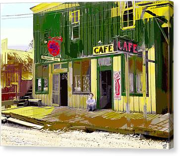 Hilliard Bar Canvas Print by Charles Shoup
