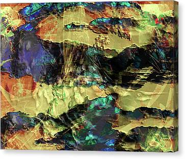 Hills Of Gold Canvas Print by Monroe Snook