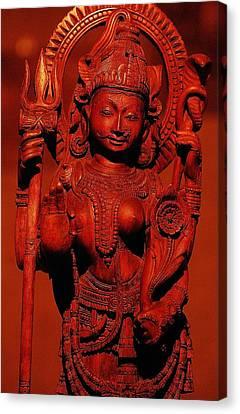 Hindu Goddess Canvas Print by Abhilash G Nath