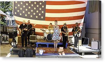 Hip Shake Live And So Good Canvas Print by Richard Balison