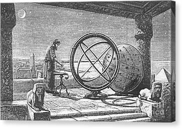 Observer Canvas Print - Hipparchus, Greek Astronomer by Science Source