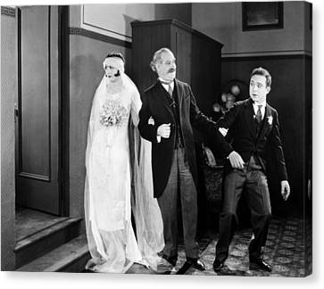 His Marriage Wow, 1925 Canvas Print by Granger