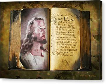 His Word Canvas Print by Dale Stillman