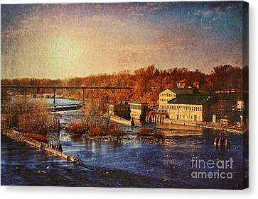 Historic Vulcan Paper Mill Canvas Print