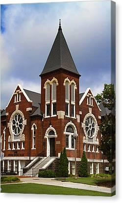 Historical 1901 Uab Spencer Honors House - Birmingham Alabama Canvas Print