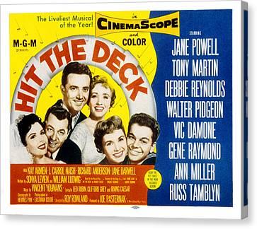 Hit The Deck, Ann Miller, Tony Martin Canvas Print by Everett