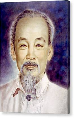 Ho Chi Minh 1890-1969 Canvas Print by Everett