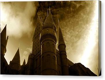 Hogwarts Castle Canvas Print by David Lee Thompson