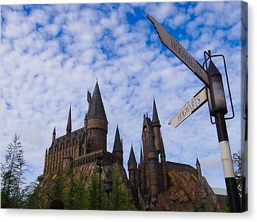 Hogwarts Castle Canvas Print