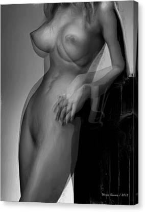 Hold On Canvas Print by Wayne Bonney