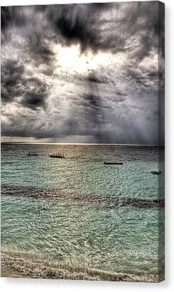 Canvas Print featuring the photograph Hole by Andrea Barbieri