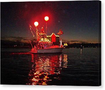 Holiday Flotilla  Canvas Print