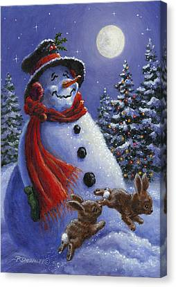 Holiday Magic Canvas Print by Richard De Wolfe