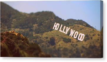 Hollywood Living Canvas Print by Brad Scott