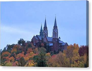Canvas Print featuring the photograph Holy Hill by Kristine Bogdanovich