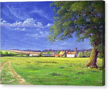 Home Field Canvas Print by Anthony Rule