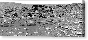 Home Plate, Mars Canvas Print by Nasa