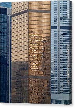 Canvas Print featuring the photograph Hong Kong Gold by Michael Canning