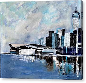 Hong Kong Canvas Print - Hong Kong by Pol Ledent