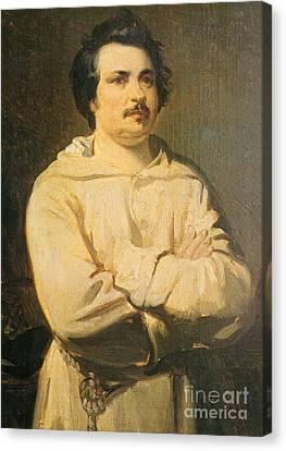 Balzac Canvas Print - Honore De Balkzac, French Author by Photo Researchers