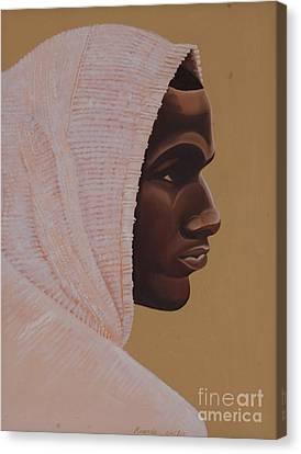 Hood Boy Canvas Print by Kaaria Mucherera
