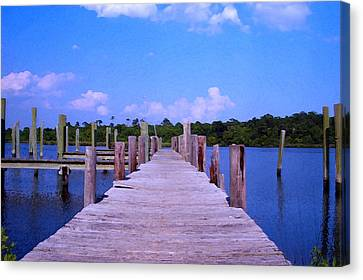 Canvas Print featuring the photograph Hope For The Future by Brian Wright