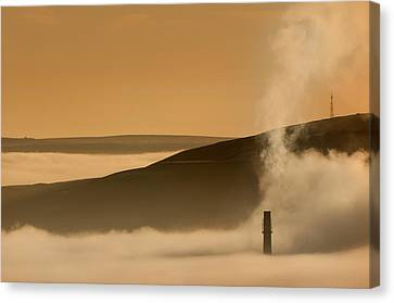 Hope Valley Canvas Print by Andy Astbury