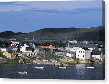 Hopedale, Newfoundland & Labrador Canvas Print