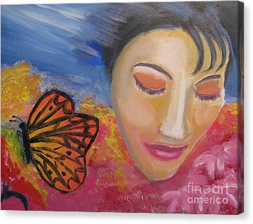 Hopeful Canvas Print by Diana Riukas