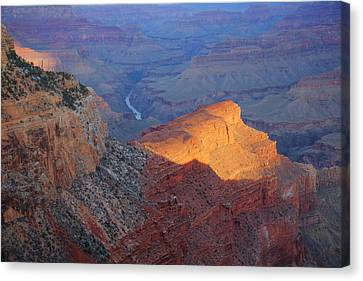Hopi Point Sunrise Canvas Print by Mike Buchheit