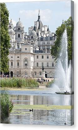 Horse Guards Canvas Print by Andrew  Michael