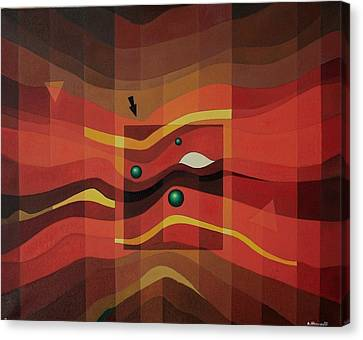 Horus Eye Canvas Print by Alberto D-Assumpcao