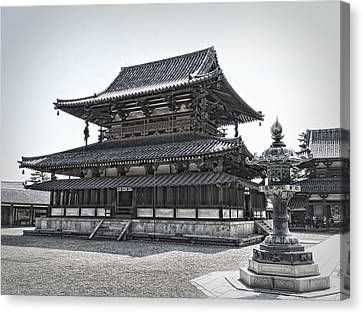 Horyu-ji Temple Golden Hall - Nara Japan Canvas Print