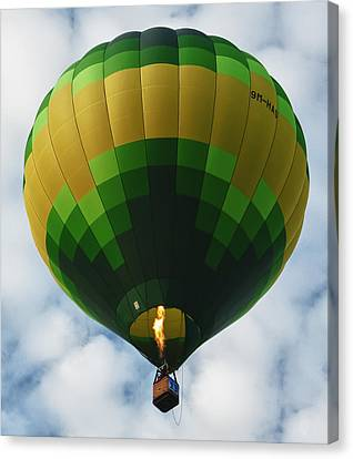 Hot Air Balloon Canvas Print by Zoe Ferrie
