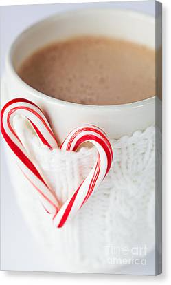 Hot Chocolate Canvas Print by Kim Fearheiley