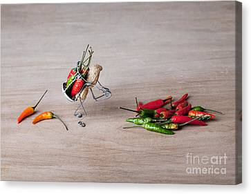 Hot Delivery 02 Canvas Print by Nailia Schwarz
