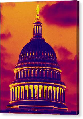 Hot Dome Canvas Print by Jim Moore