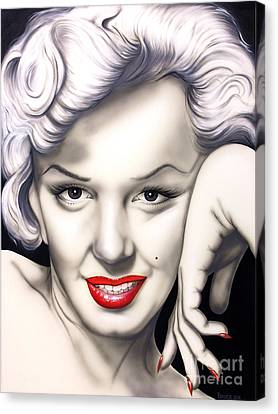 Hot Lips Canvas Print by Bruce Carter