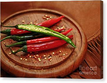 Hot Pleasures From Mexico Canvas Print by Inspired Nature Photography Fine Art Photography