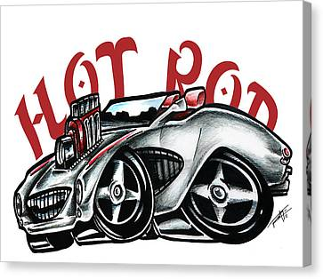 Hot Rod Canvas Print
