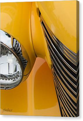 Hot Rod Chevy Canvas Print by Steven Milner